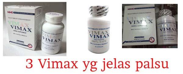 Vimax Kardus Palsu