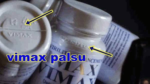 Vimax Timbul Palsu